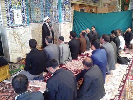 سخنرانی امام جمعه قهدریجان در مسجد النبی