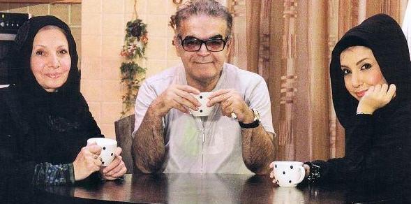 حمید لولایی | بیوگرافی حمید لولایی و همسرش | عکس سارا و مریم دخترانش
