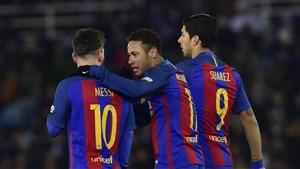 نتیجه بازی بارسلونا و ایبار 3 بهمن 95 | فیلم خلاصه و گلها دیشب