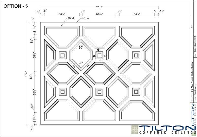 نقشه مناف سقف کلاسیک10