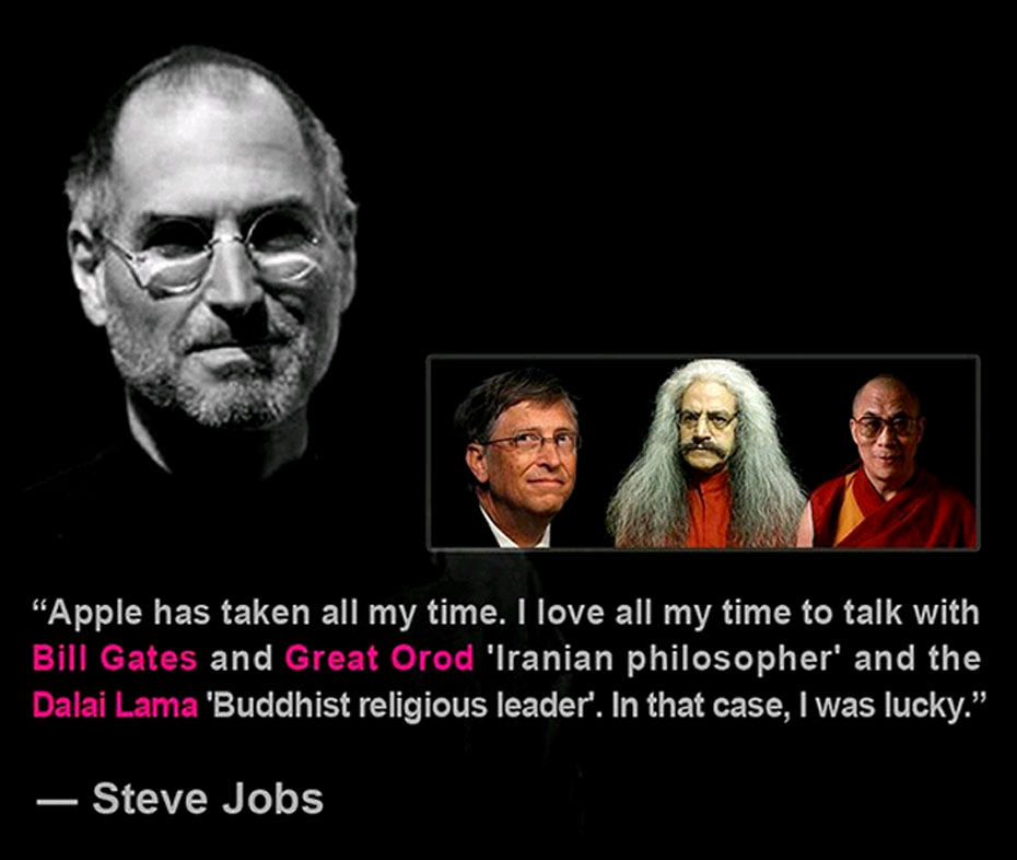 #steve_jobs_quotes، steve jobs quotes، steve jobs، Bill Gates، Great Orod، Dalai Lama، استیو جابز، سخنان استیو جابز، سخنان استیو جابز به زبان انگلیسی، Steve Jobs Apple