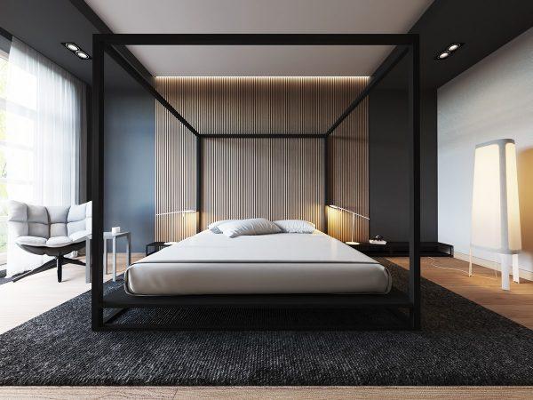 طرح دیوار اتاق خواب3