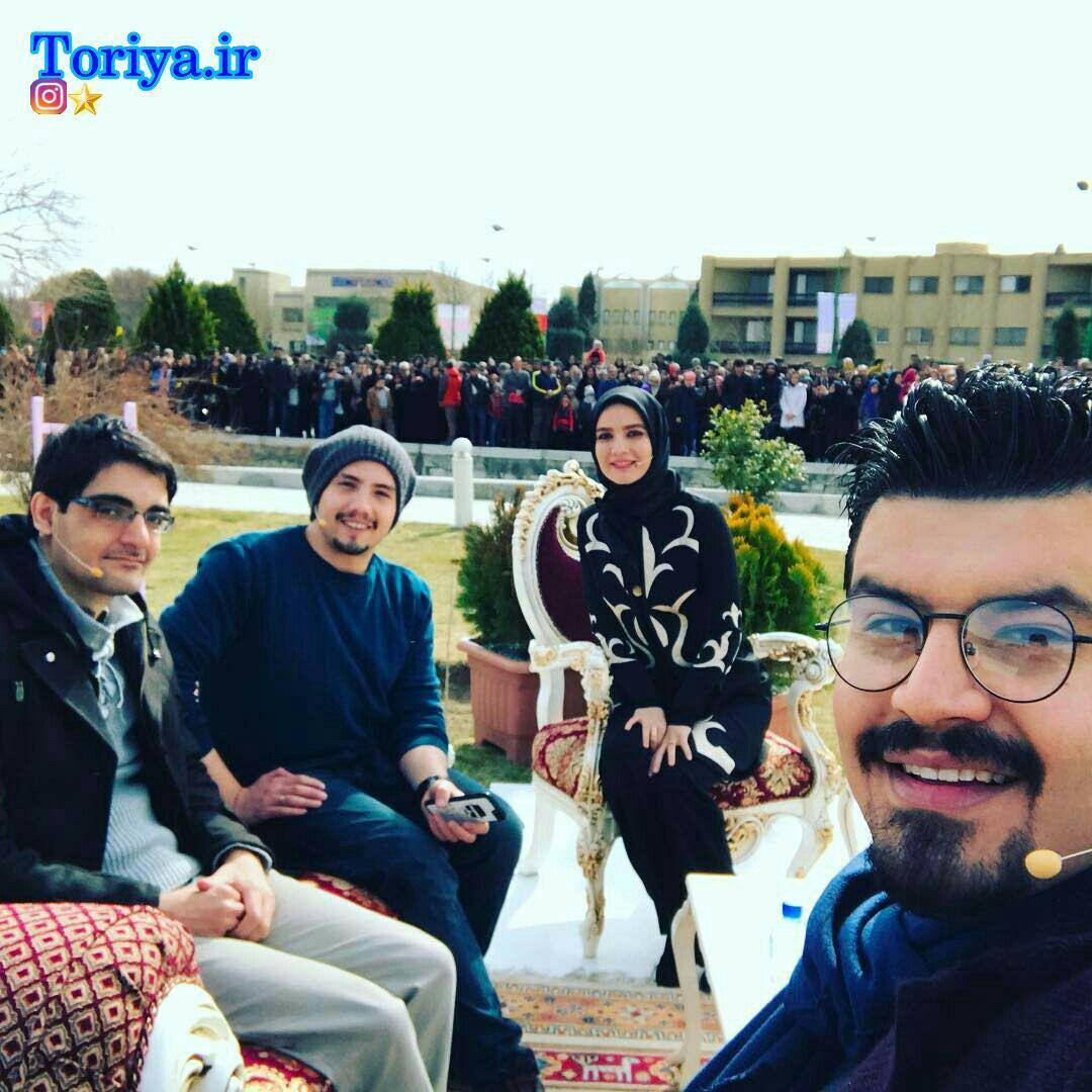 متین ستوده،امیر کاظمی و مسعود حسینی