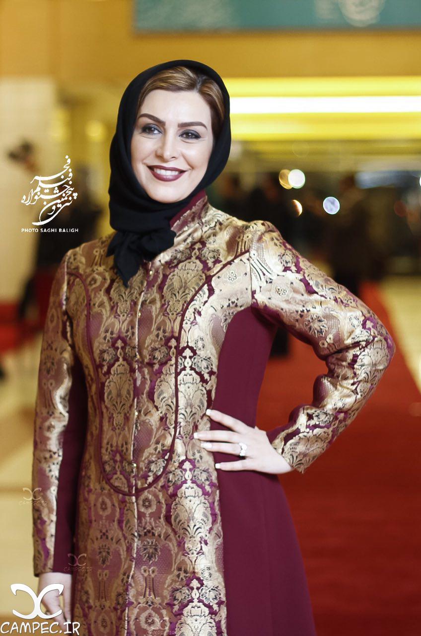 ماه چهره خلیلی در افتتاحیه جشنواره 35 فیلم فجر