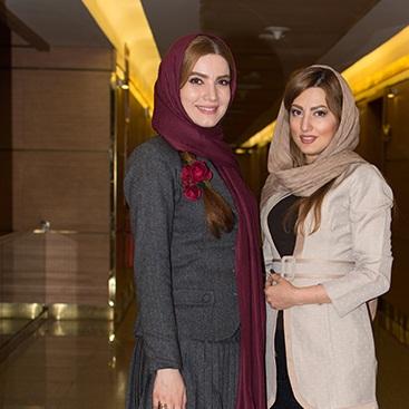عکسهای متین ستوده و سمیرا حسینی در افتتاحیه سی و پنجمین جشنواره فیلم فجر_فجر 35
