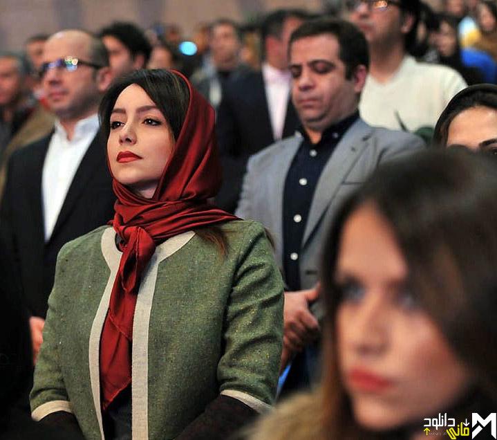 نازنین بیاتی در افتتاحیه جشنواره 35 فیلم فجر