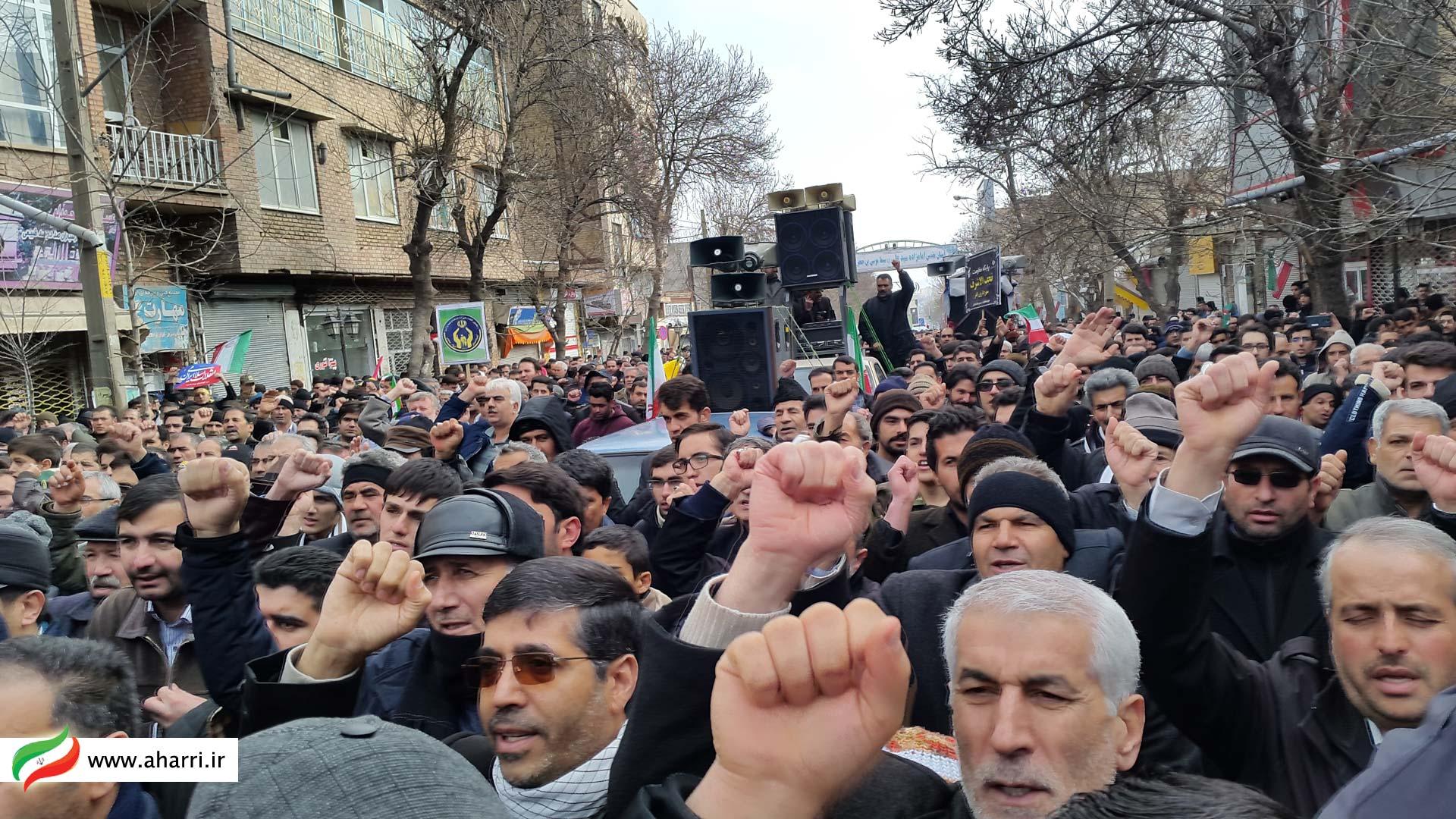 راهپيمايی 22 بهمن اهر