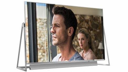 4. Panasonic DX802 range؛ تلویزیونی مقرونبه صرفه با قابلیتهای اچ.دی.آر و 4K.