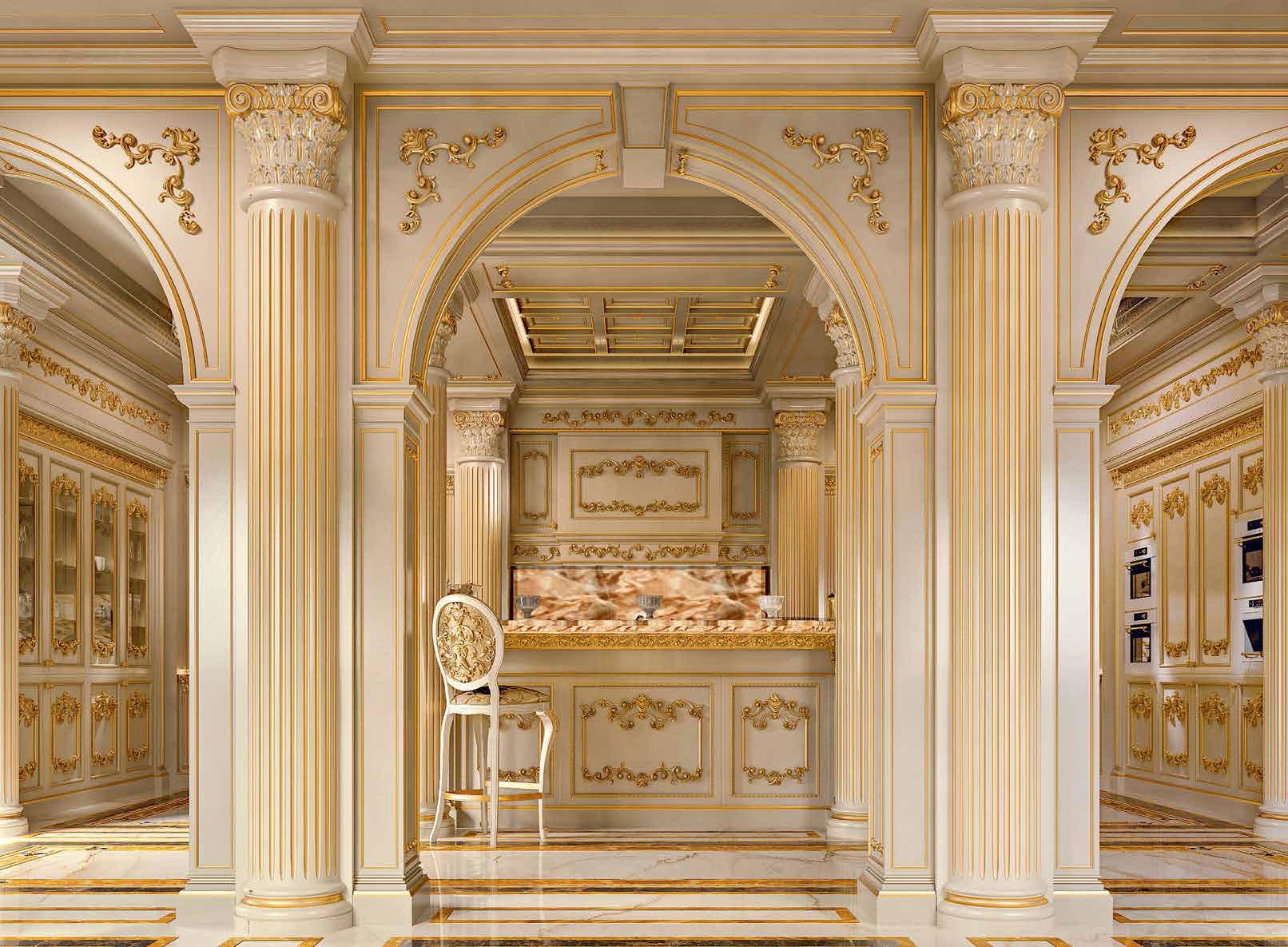 آشپزخانه, اشرافی, سلطنتی