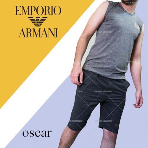 ست رکابی شلوارک مردانه جورجیو آرمانی اسکار Giorgio Armani Oscar