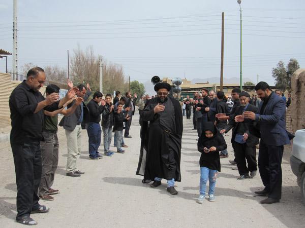 مراسم بزرگداشت سالروز شهادت حضرت فاطمه زهرا(س) در محله صادقیون+ تصاویر