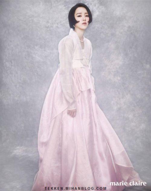 عکس لباس سنتی کره ای