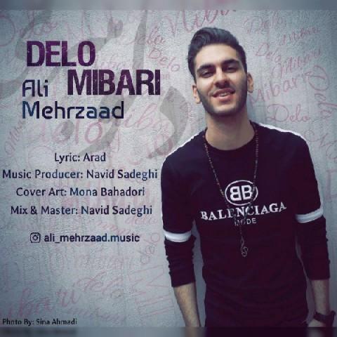 دانلود آهنگ جدید علی مهرزاد به نام دلو میبری