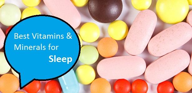 ویتامین ها و مینرال ها برای خواب