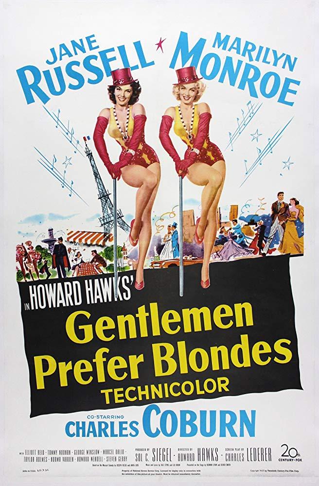 دانلود زیرنویس فارسی فیلم آقایان مو طلایی ها را ترجیح می دهند Gentlemen Prefer Blondes 1953