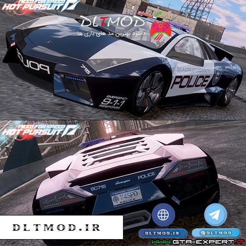 دانلود مد ماشین پلیس لامبورگینی برای بازی GTA IV