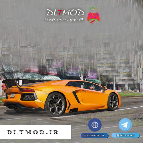 دانلود مد ماشین Lamborghini LP700 برای GTA V
