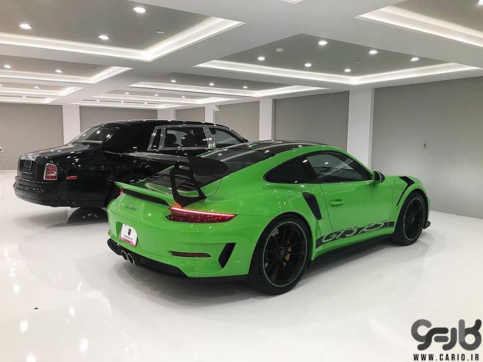 Porsche GT3 RS پورشه جی تی 3 آر اس مانی خوشبین