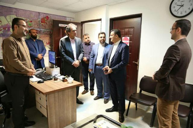 گزارش تصویری بازدید شهردار رشت از منطقه چهار شهری