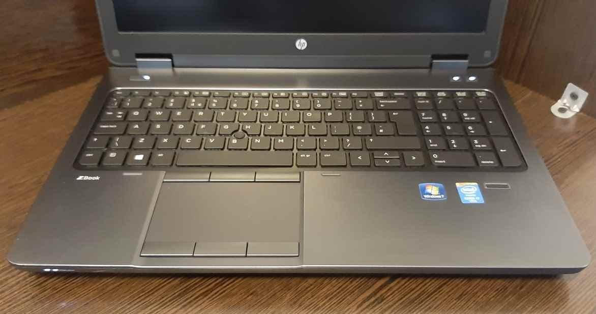 لپ تاپ استوک اچ پی مدل HP ZBOOK 15 G2 با مشخصات i5-4gen-8GB-500GB-HDD-2GB-AMD-R7-M200X