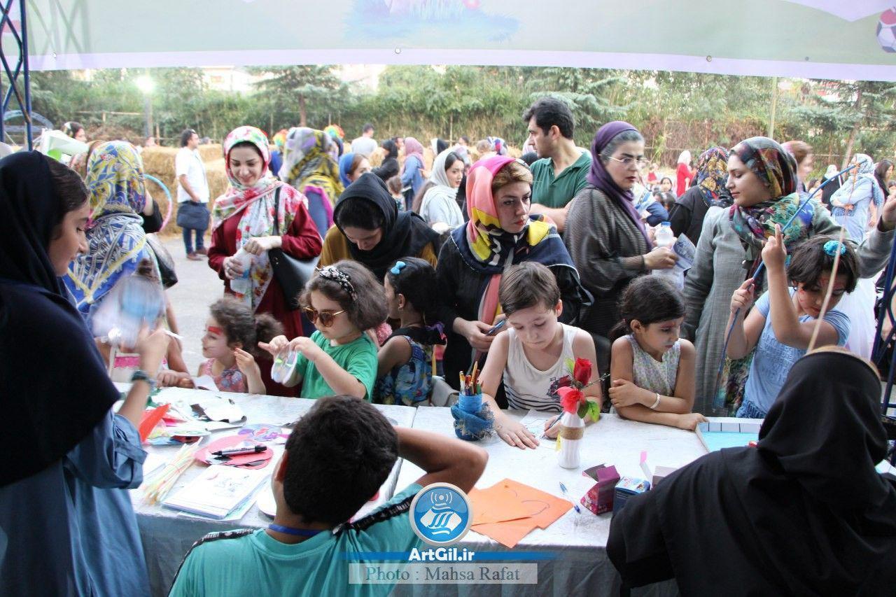 جشنواره بازی ها در رشت + تصاویر