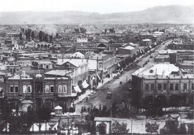 تبریز در جنگ جهانی