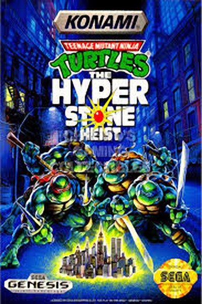 دانلود بازی لاک پشت های نینجا سگا Turtles برای کامپیوتر
