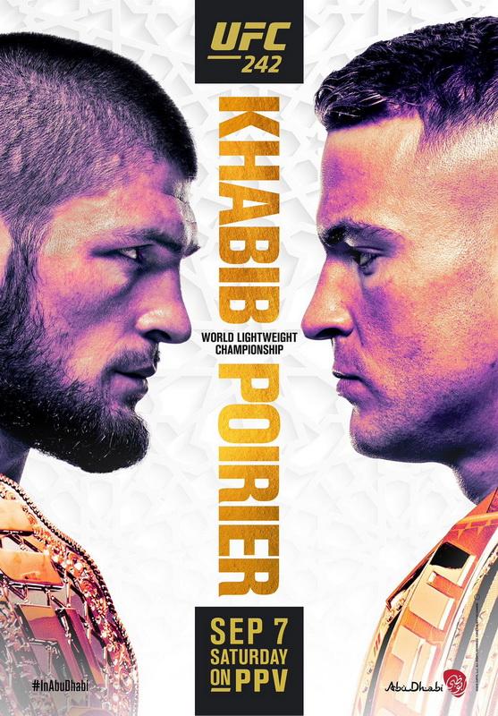 دانلود رویداد یو اف سی 242  :  UFC 242: Khabib vs. Poirier_نسخه ی 1080p اضافه شد
