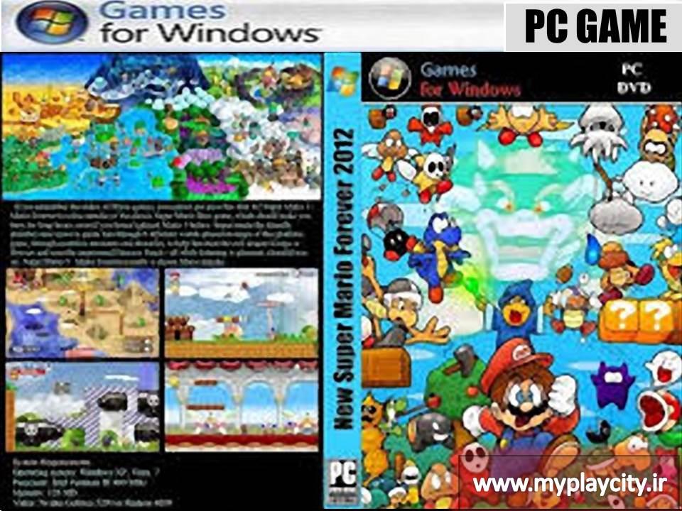 دانلود بازی New Super Mario Forever 2012 برای کامپیوتر