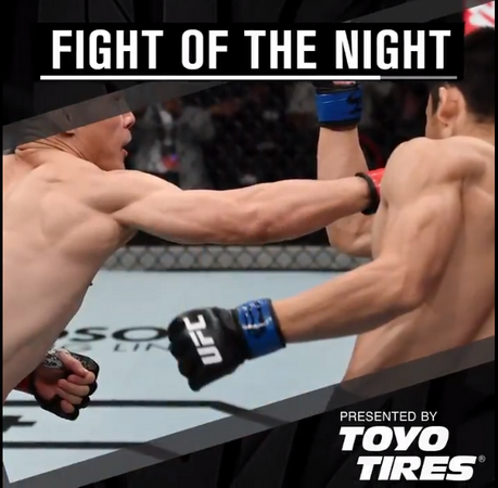 نتایج رویداد : UFC Fight Night: Andrade vs. Zhang