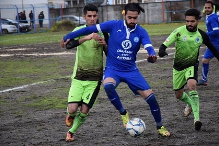 تیم فوتبال شهرداری آستارا از جام حذفی کشور خداحافظی کرد