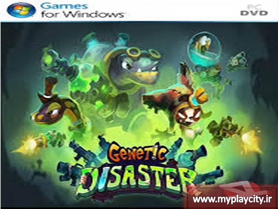 دانلود بازی Genetic Disaster برای کامپیوتر
