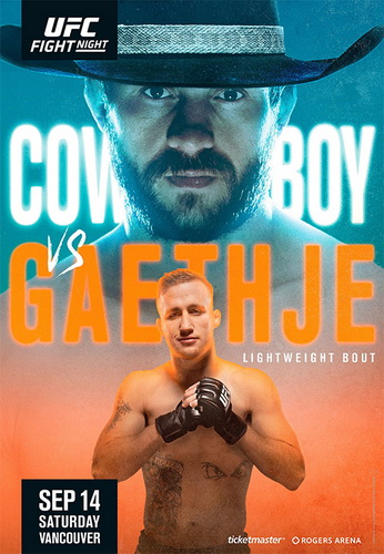 نتایج رویداد : UFC Fight Night: Cowboy vs. Gaethje