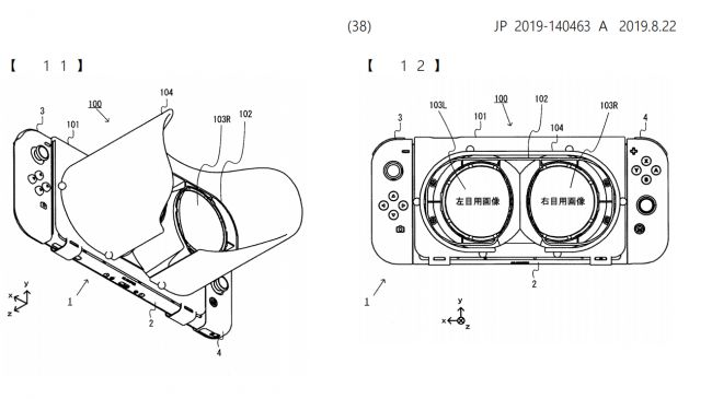 This Nintendo Switch VR patent filing looks like Labo VR 2.0