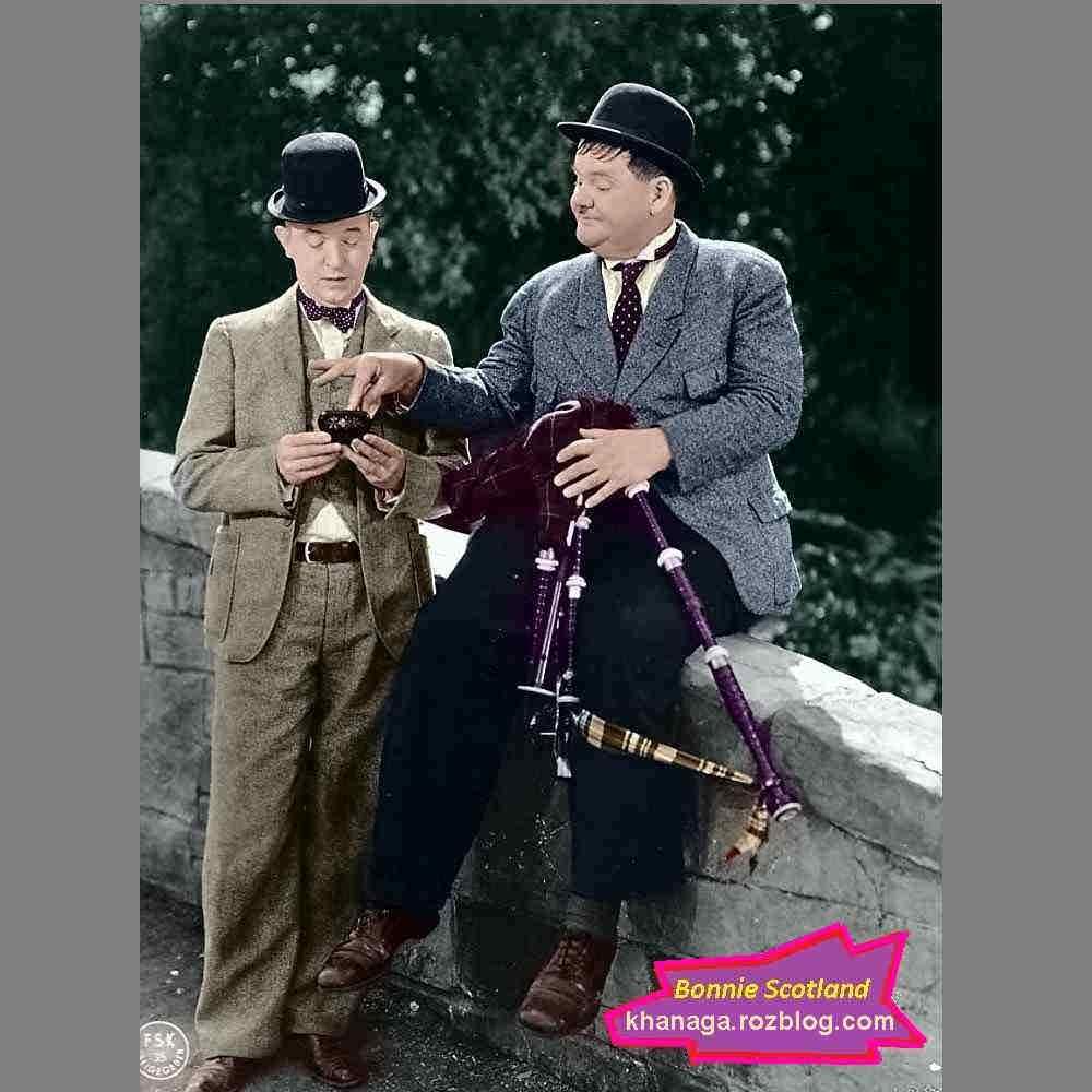 لورل و هاردی - بانی اسکاتلند