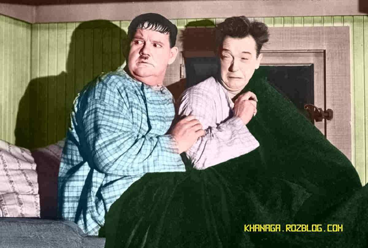 لورل و هاردی - شبح زنده