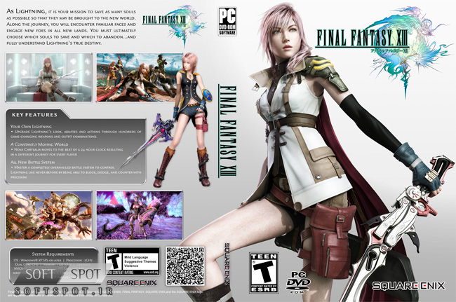 Final Fantasy XIII Cover