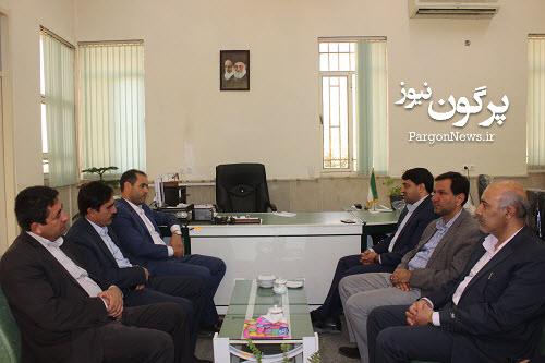 مدیران کل اوقاف و امور خیریه و کمیته امداد امام خمینی (ره) با فرماندار قیروکارزین دیدار کردند