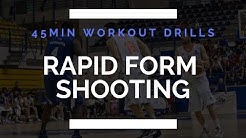 Stephen Curry RAPID Form Shooting Drill