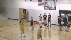 3 Man Shooting Drill, Stationary with Conditions