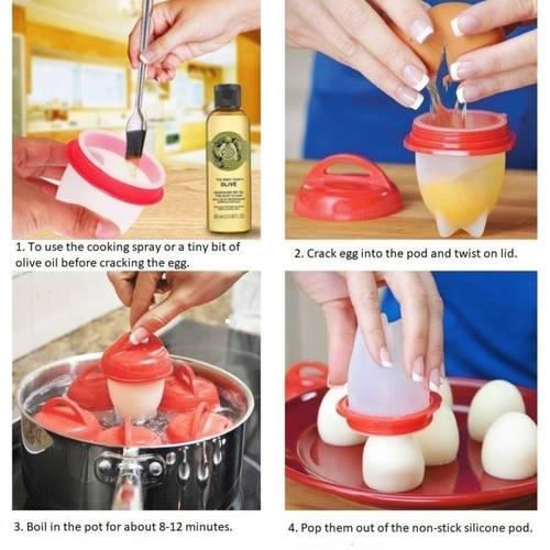 بهترین قالب تخم مرغ پز