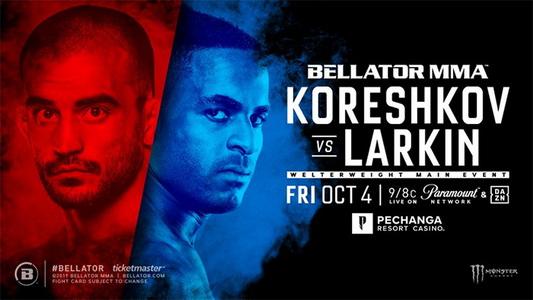 دانلود مسابقات بلاتور  229  Bellator 229: Koreshkov vs. Larkin