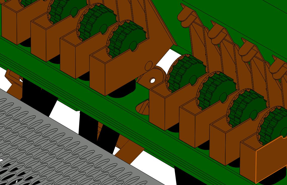 دانلود پروژه طراحی شده خطی کار 24 ردیفه در نرم افزار سالیدورک ( solidwork ) | تلماتو