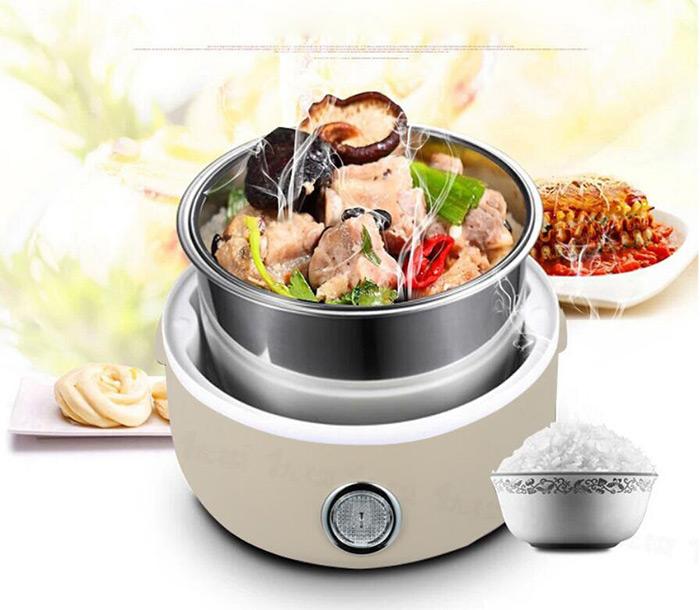 ظرف غذای برقی داخل استیل کره ای
