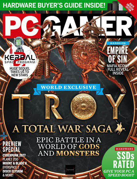 Free Download PC Gamer USA Magazine – December 2019