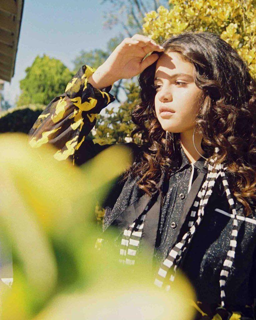 ارسالی های جدید از سلنا مربوط به مجله Wonderland 2015
