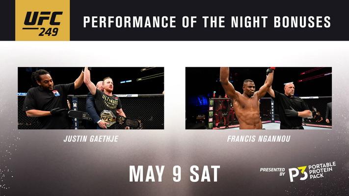 نتایج رویداد :  UFC 249: Ferguson vs. Gaethje+کنفرانس خبری