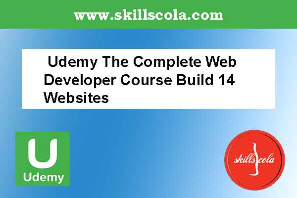 Udemy The Complete Web Developer