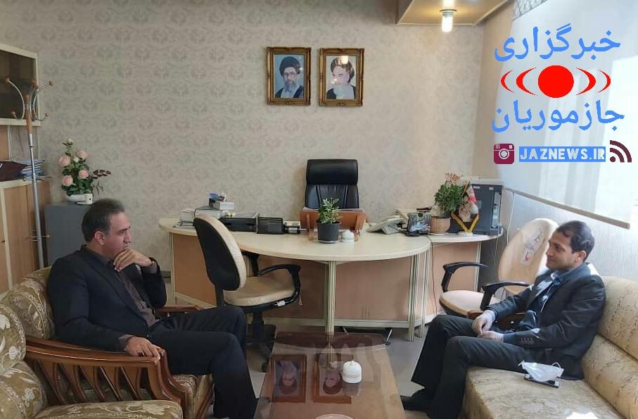 دیدار فرماندار قلعه گنج با مدیر کل امور شهری استان کرمان