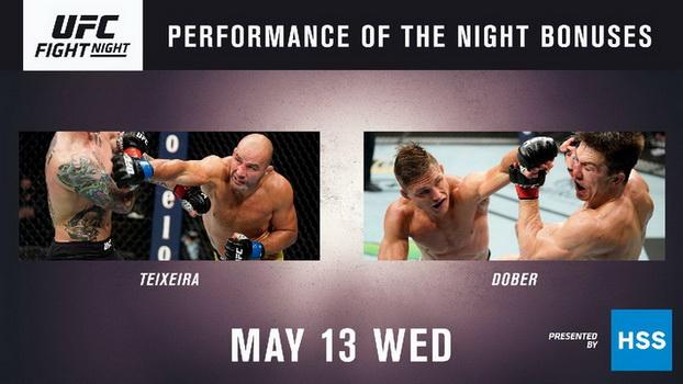 نتایج رویداد :  UFC Fight Night 171: Smith vs. Teixeira